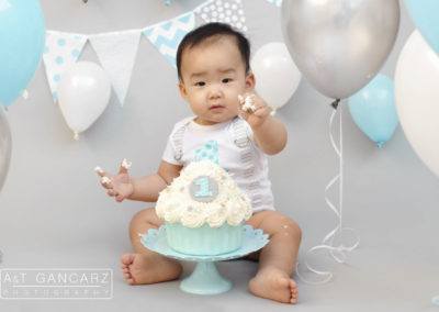 Cake Smash Photography Cheshire, Aneta Gancarz, Tom Gancarz