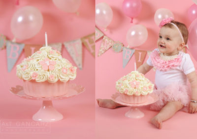 Cake Smash Photography Manchester, A&T Gancarz Photography