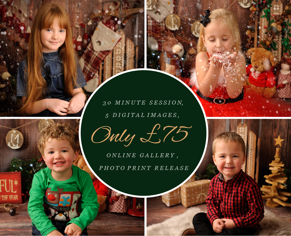 christmas mini sessions, atgancarz photography, portrait sessions, studio sessions