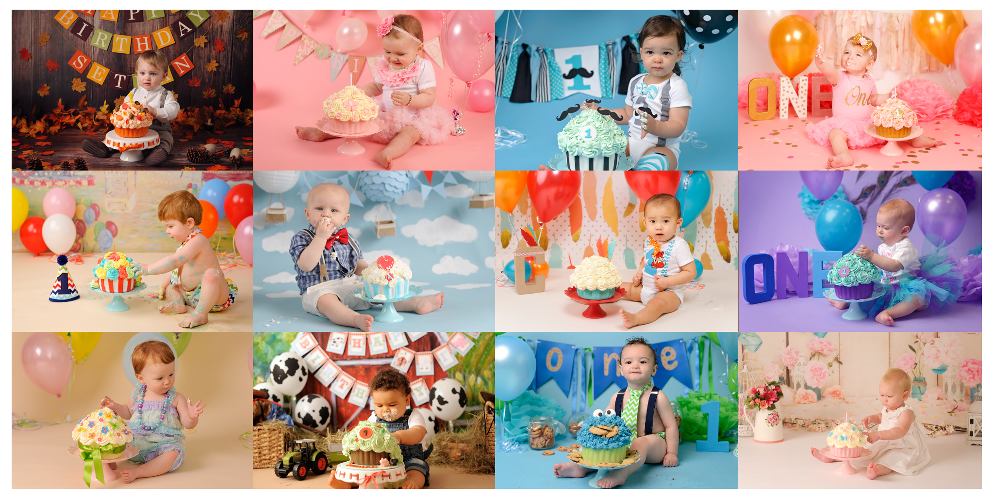 cake smash photography packages, 1st Birthday Cake Smash Manchester
