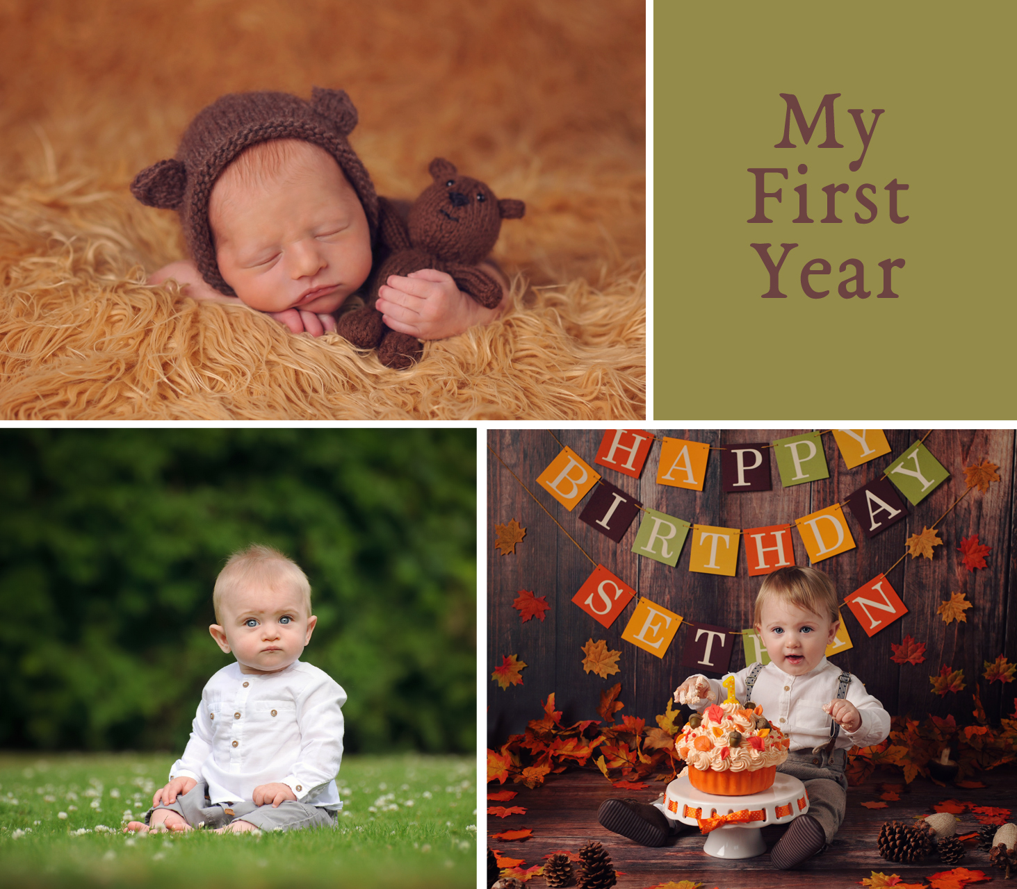 First Year Collection Packages, A&T Gancarz Photography